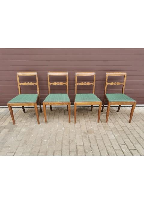 Kėdės ąžuolinės, antikvarinės. 4 vnt. Kaina po 43