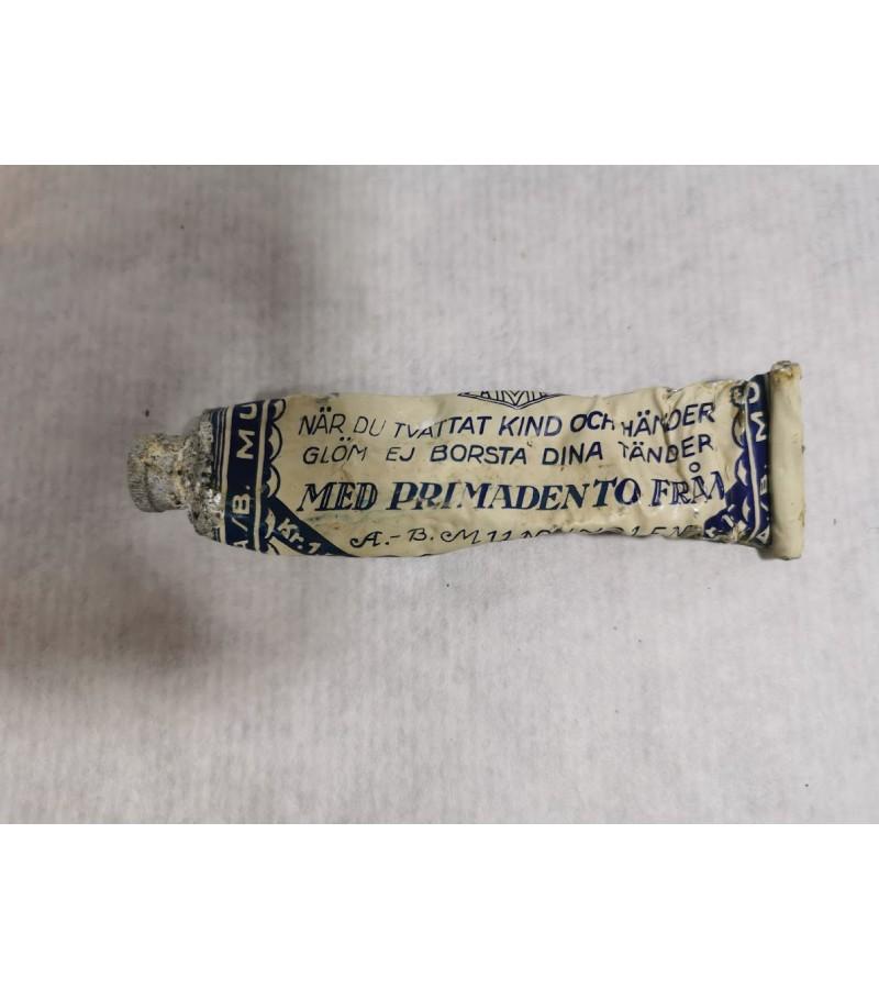 Dantų pasta antikvarinė, tarpukario laikų. Kaina 8