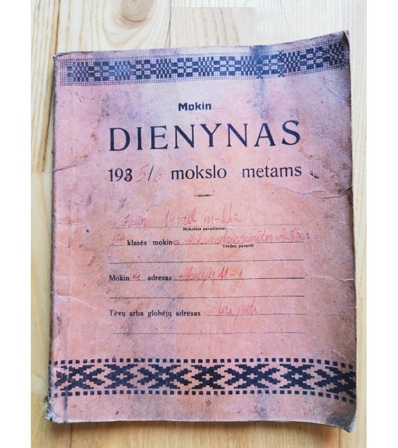 Mokinio Dienynas. 1940/41 mokslo metams. Kaina 32