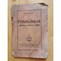 Knyga Fenologija tiriamųjų mokslų tarpe. St. Nacevičius. 1926 m. Kaina 6