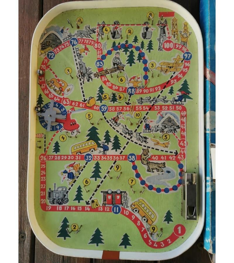 Žaidimas Biliardas - Linksma kelionė. Tarybinis, 1978 m. Neveikia paleidėjas. Kaina 32