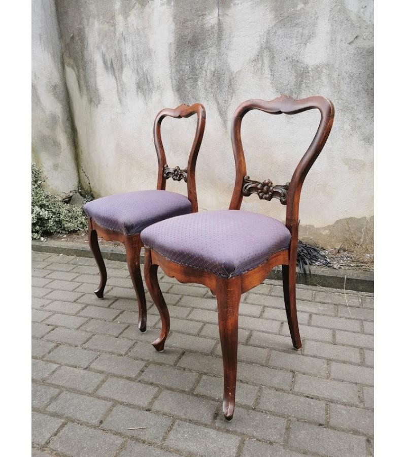 Kėdės antikvarinės. 2 vnt. Kaina po 53