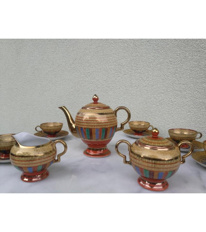 Servizas arbatai antikvarinis, japoniškas. Kaina 78