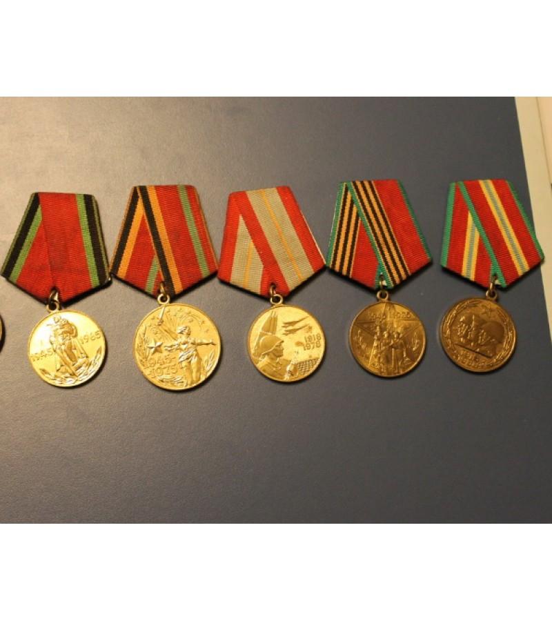Medaliai kariški, tarybiniai. Kaina po 7