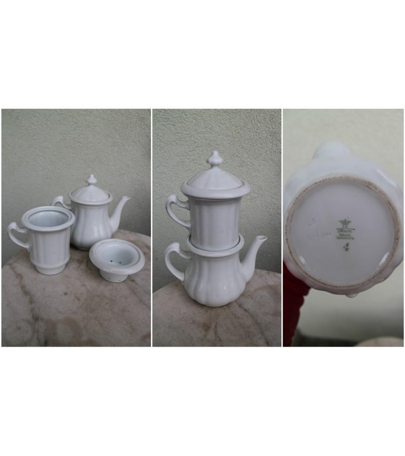 Arbatinis, kavinukas su filtrais tarpukario laikotarpio, Čekoslovakija. Kaina 52