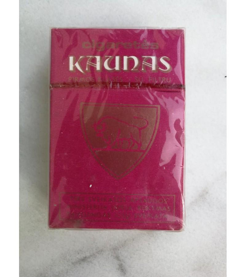 Cigaretės Kaunas, kolekcinės. Nenaudota. Kaina 22