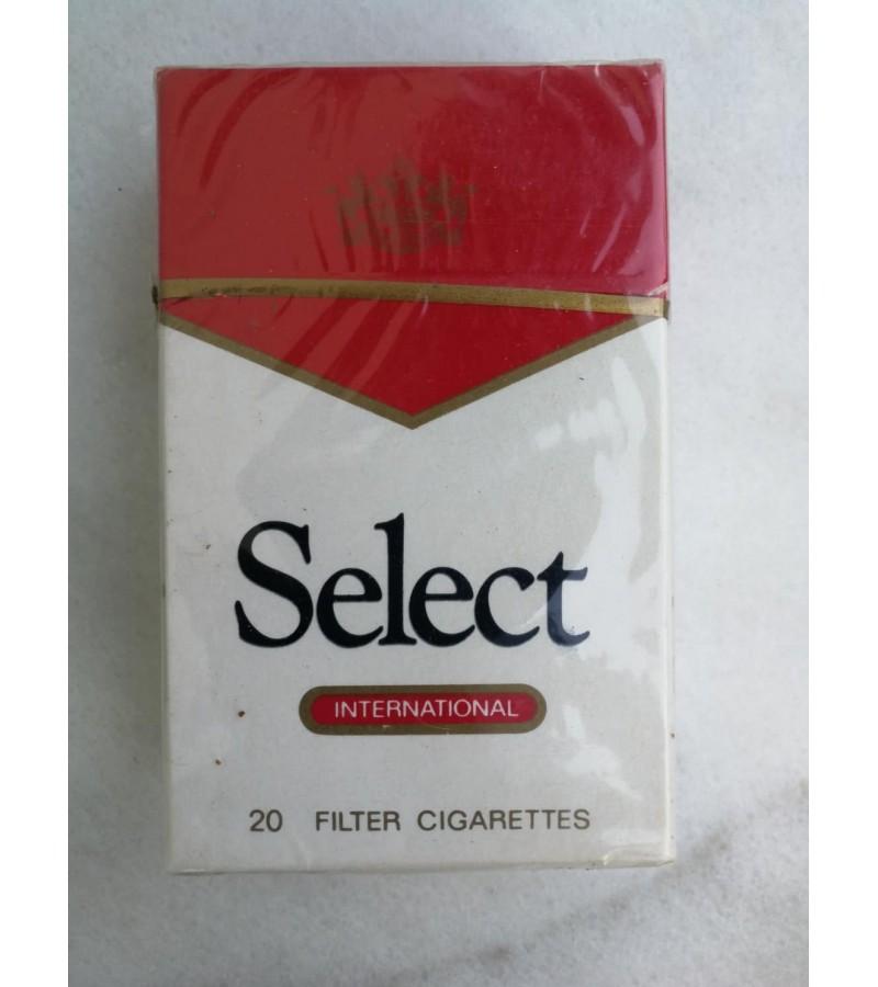 Cigaretės Select, kolekcinės, tarybinių laikų. Bulgarija. Kaina 7