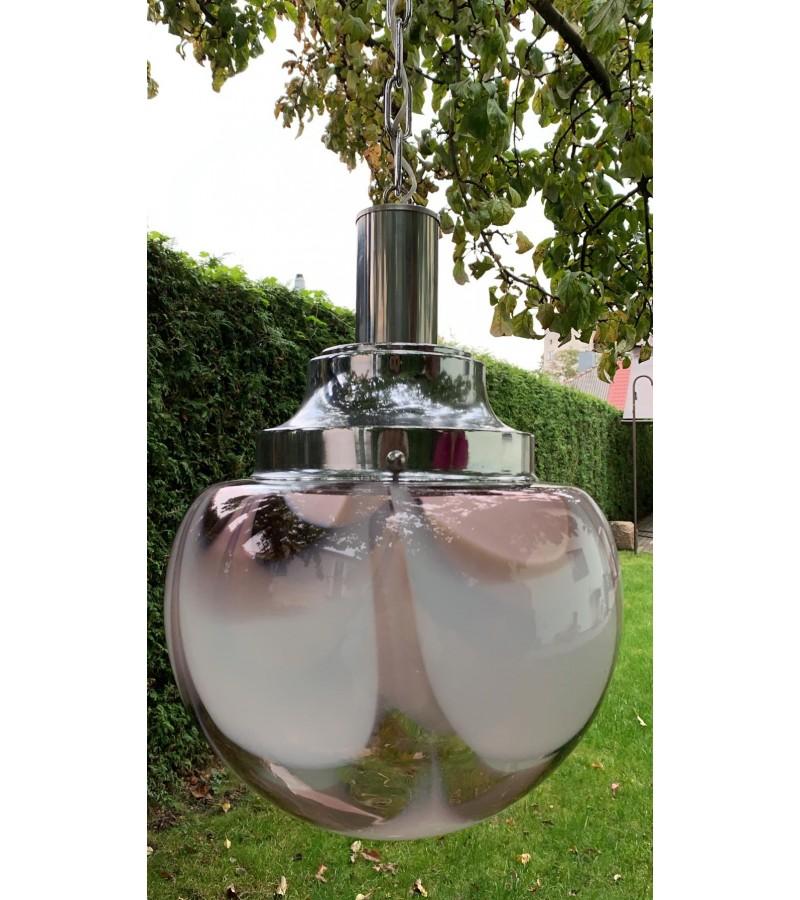 Šviestuvas burbulas Murano stiklo vintažinis, itališkas. Kaina 178