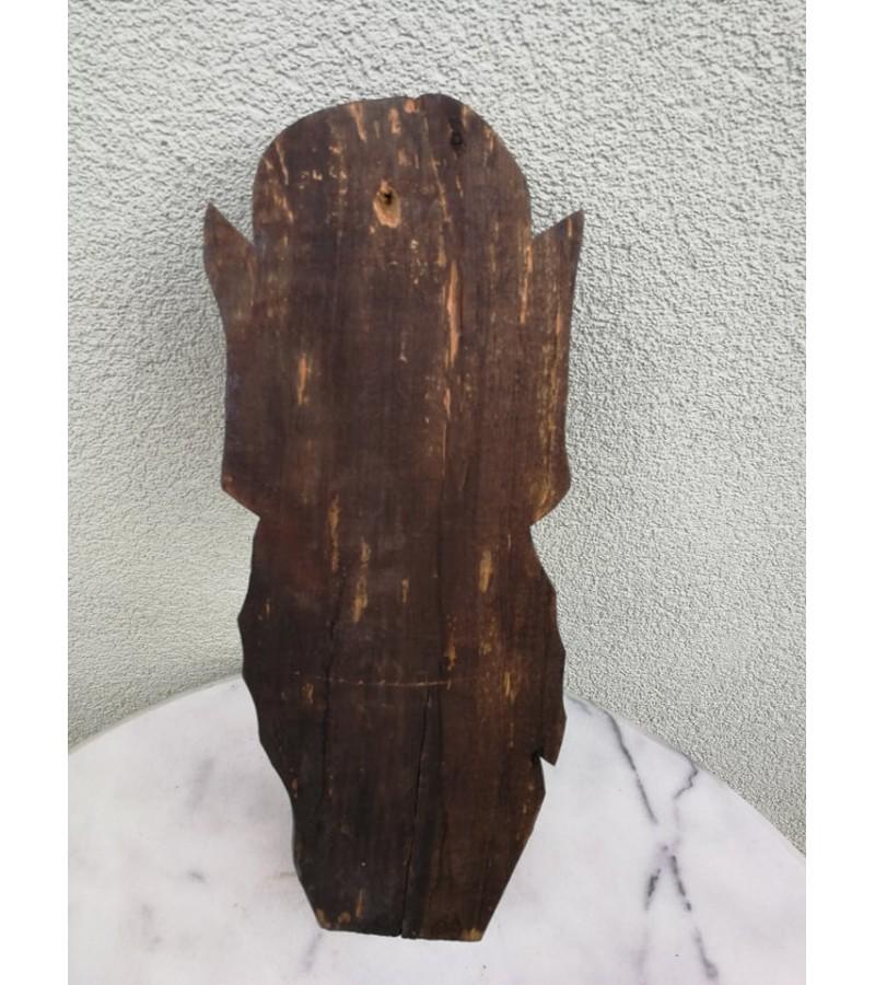 Medžio drožinys Velnias. Kaina 41