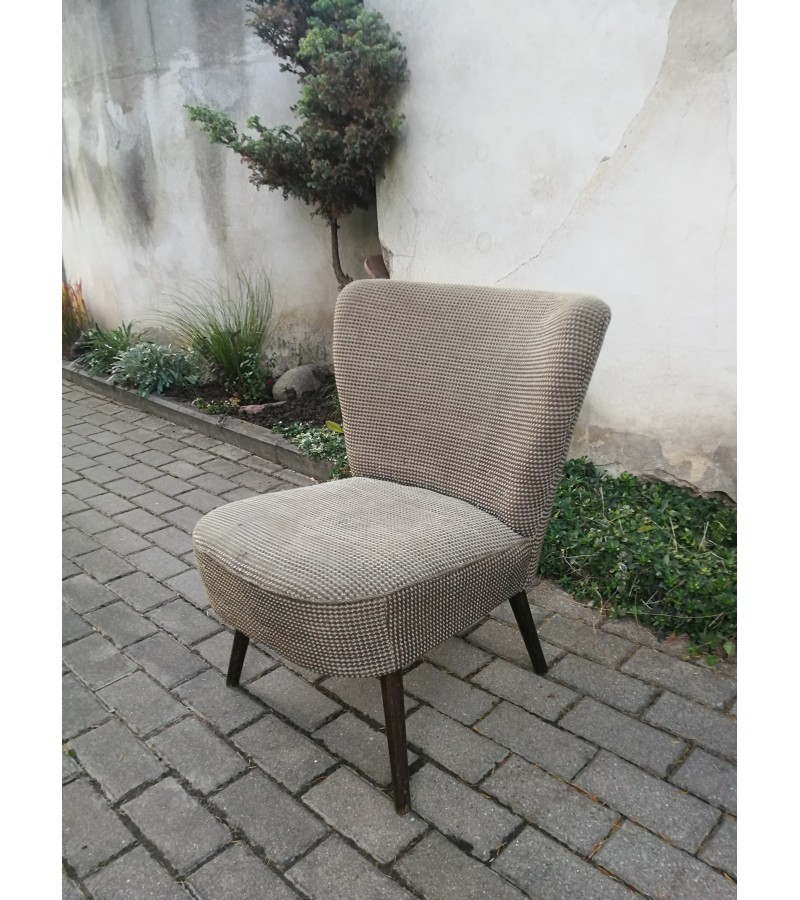 Fotelis Mid-century modern style, vintažinis. Kaina 72