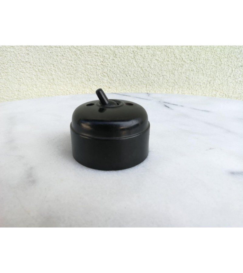 Elektros jungiklis antikvarinis, bakelitinis, Kaina 16