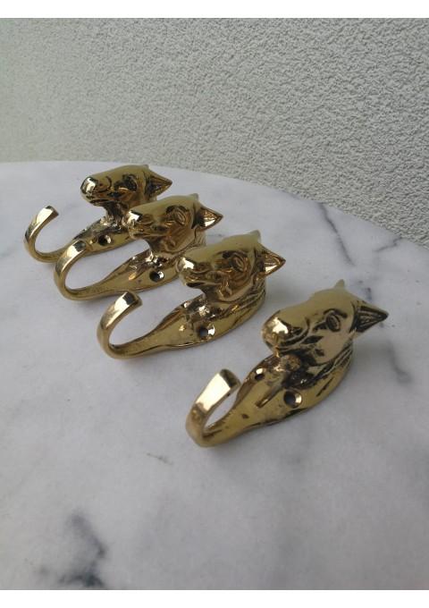 Kabyklos, bronziniai arkliukai. 4 vnt. Kaina po 11