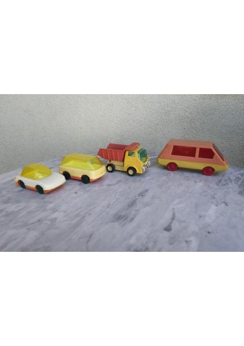 Mašinėlės plastmasinės, tarybinės. Kaina 2, 2, 3, 3
