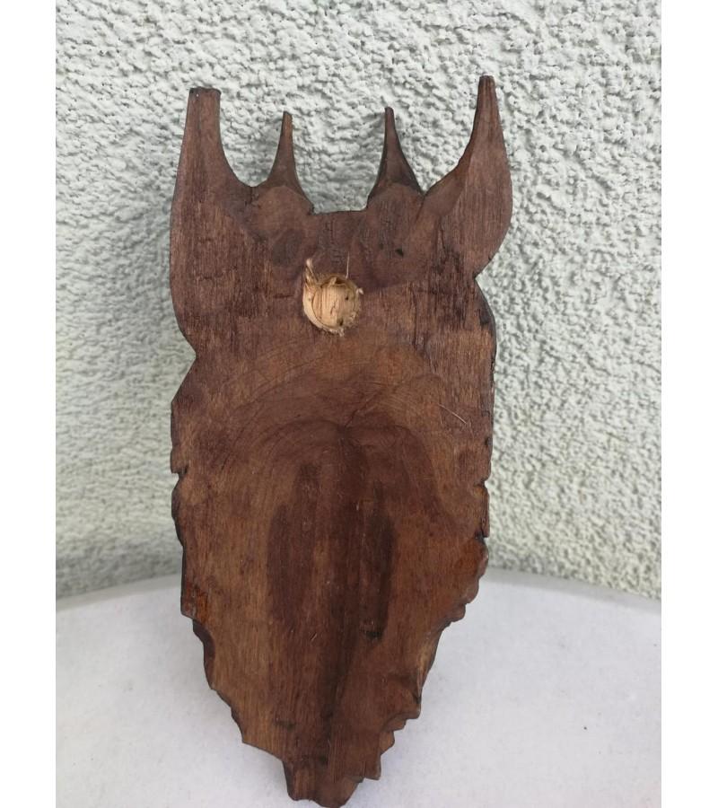 Medžio drožinys Velnias. Kaina 21