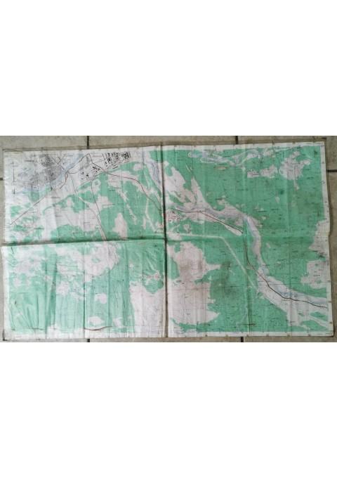 Žemėlapis karinis Jonava, Rukla. Kaina 32