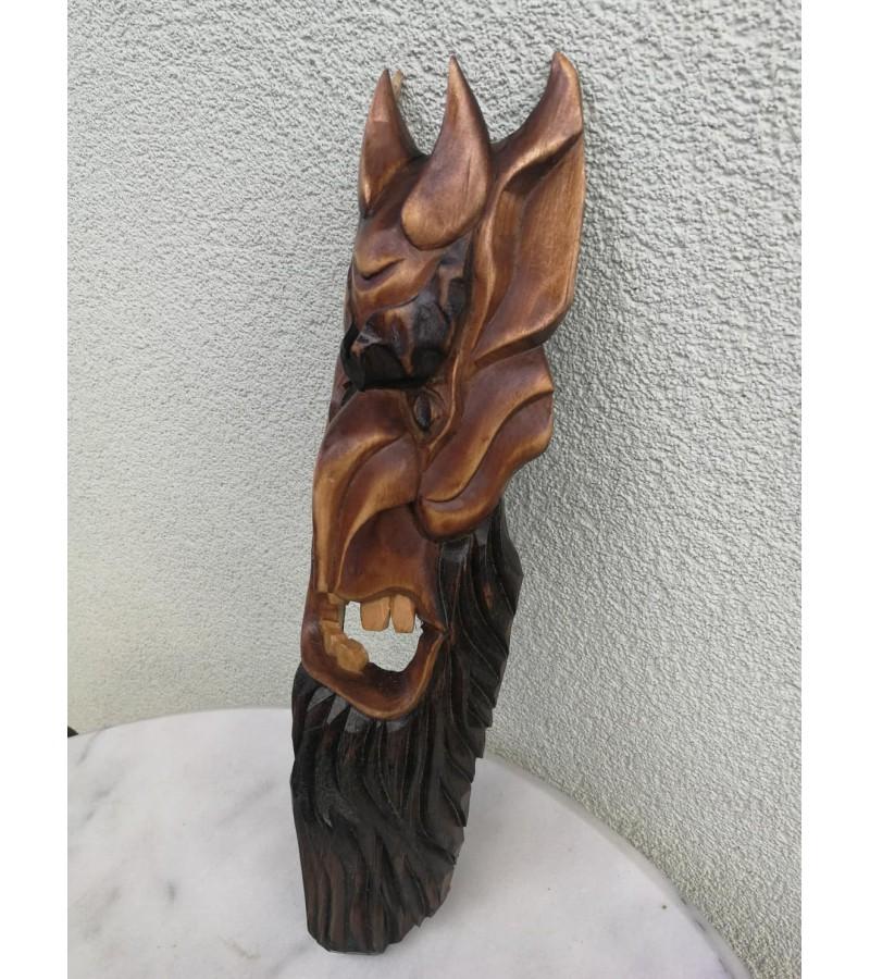 Medžio drožinys Velnias. Kaina 36