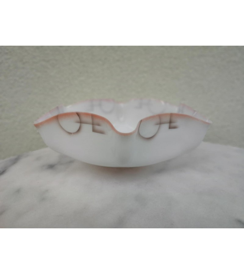 Lempos gaubtas antikvarinis, plono stiklo. Kaina 32