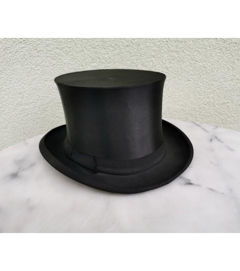 Cilindras (skrybėlė) sustumiamas, antikvarinis. Kaina 87