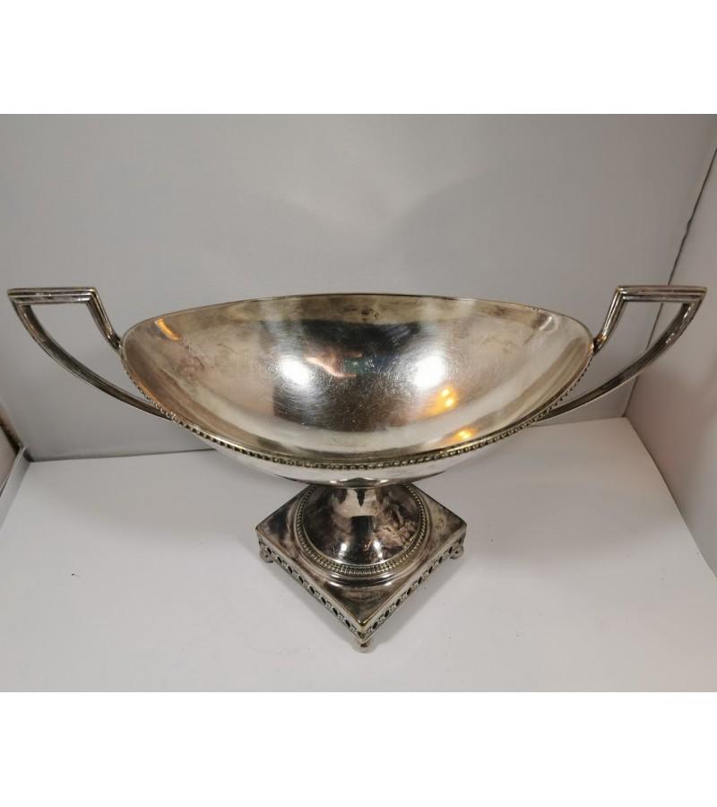 Vaisinė, saldaininė, cukrinė sidabruota, antikvarinė WMFM 1/0. Jugendstil - Art Nouveau, 1880-1918. Kaina 27