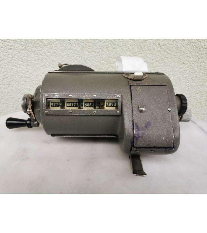 Konduktoriaus bilietavimo mašina, Gaminta 1950-1970 m, Kaina 157