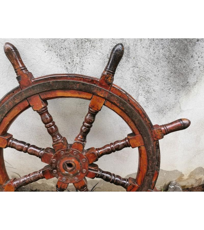 Šturvalas antikvarinis, autentiškas, sunkus. Kaina 375