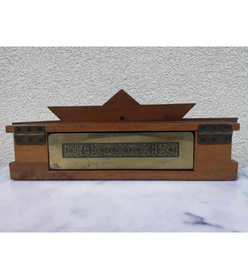 Apšvietimas antikvarinis natų sąsiuvinio ar pan. D.R.G.M. vokiška kokybė. Kaina 53