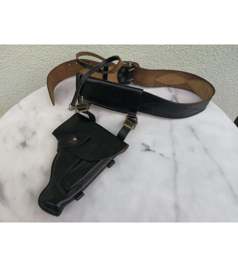 Partupėja jūrininko su dėklu (kabūra) pistoletui. Leningrad. 1980 m. Kaina 42
