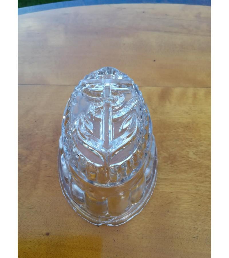 Indas su inkaru, stiklinis. antikvarinis. Kaina 13