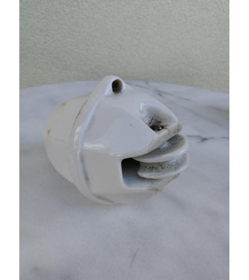 Lempos svoris keraminis, glazūruotas, antikvarinis. Kaina 12