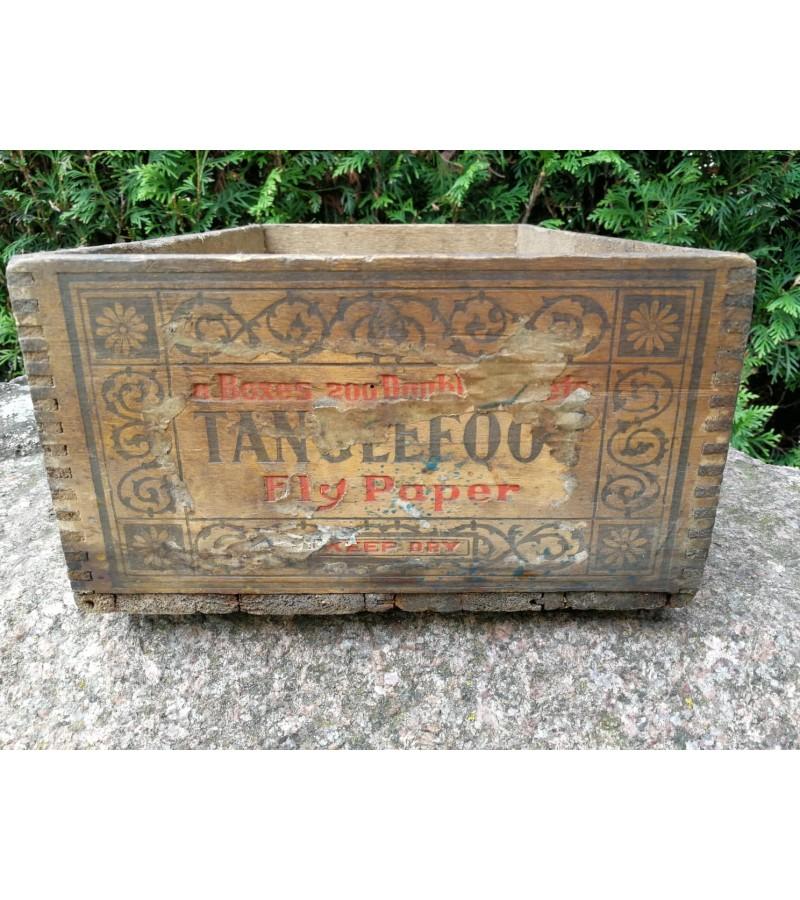 Dėžė medinė, antikvarinė, apie 1910 m. Kaina 21