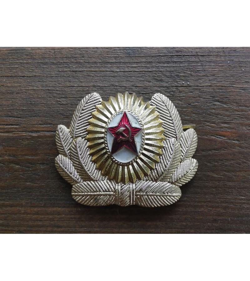 Kokarda tarybinė, kariška, sovietinių laikų. 6 vnt. Kaina po 11