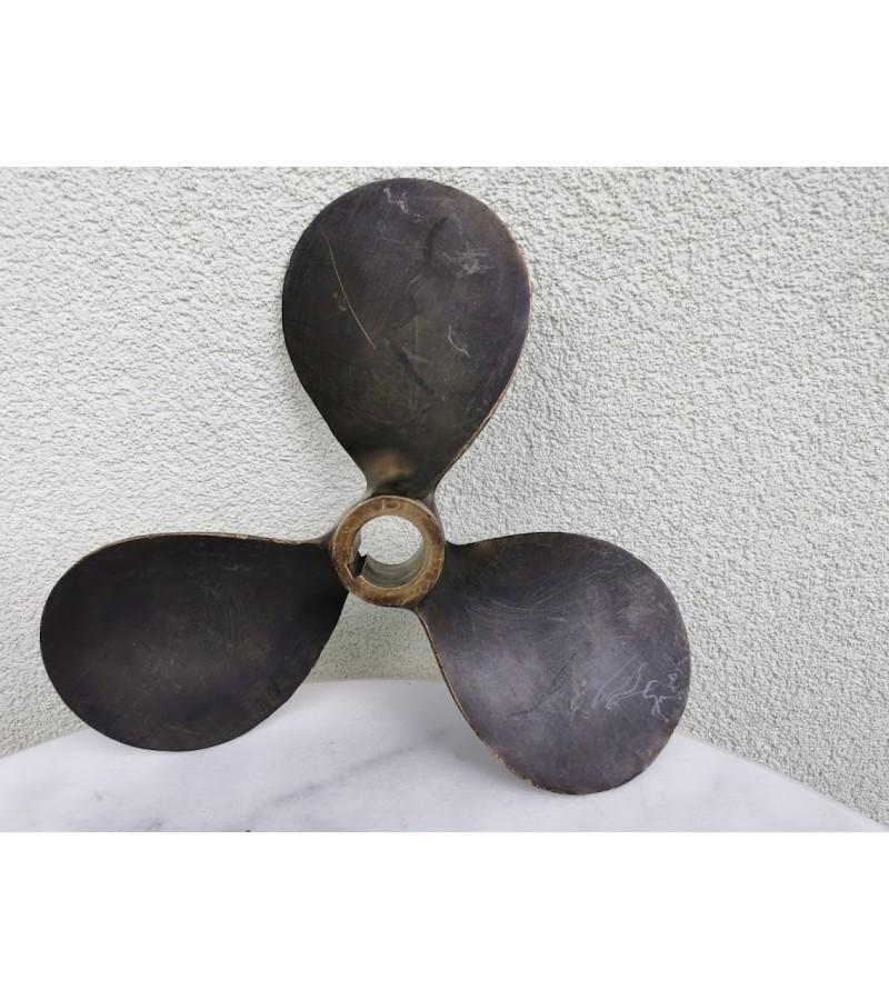 Laivo sraigtas bronzinis. Originalus, praktiniam naudojimui. Kaina 137