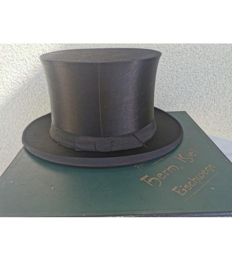 Cilindras (skrybėlė) sustumiamas, antikvarinis. Originali dėžė. Vokietija. Kaina 93
