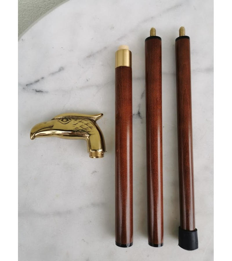 Lazda bronzine rankena. Tvirta, išardoma. Vokietija. Kaina 68