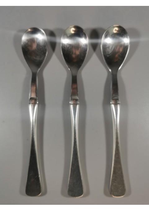 Šaukšteliai sidabriniai, antikvariniai. 3 vnt. Kaina 63 už visus arba po 28
