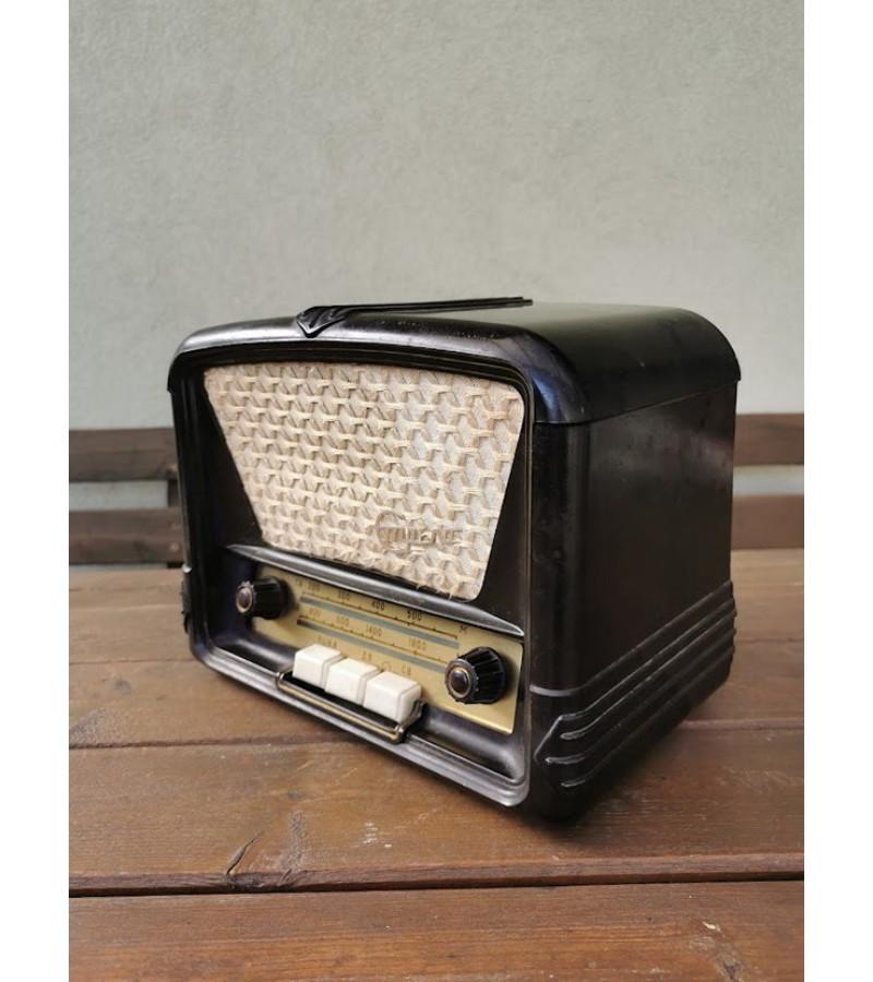 Radija Strela, Стрела. 1955 m. Voronezh Elektrosignal Radio Works. Netikrinta. Kaina 87