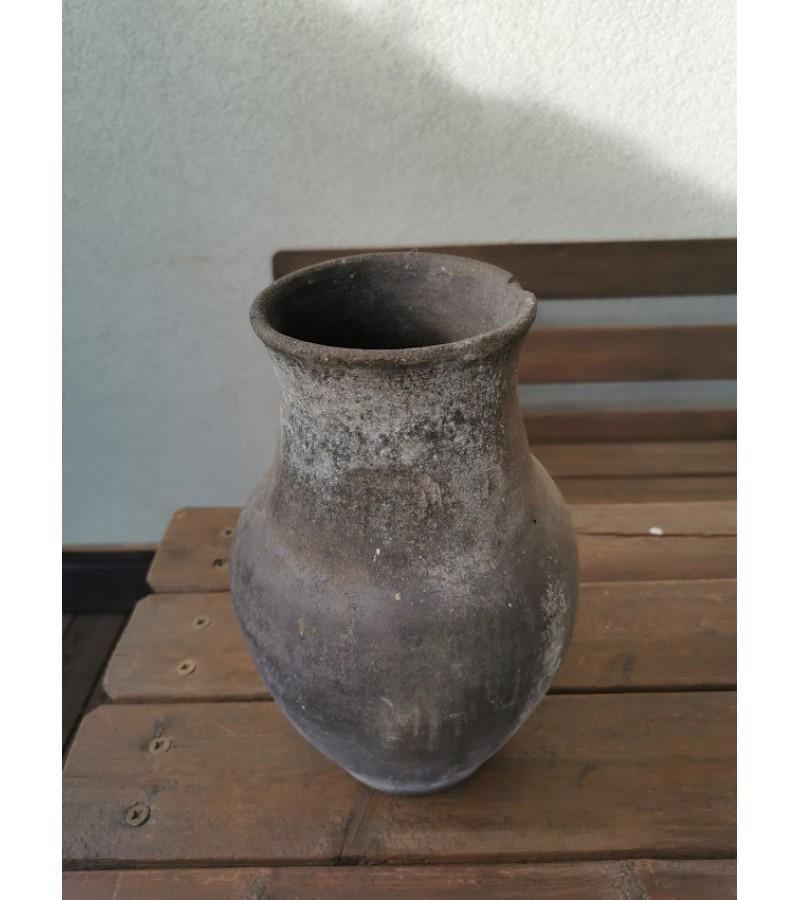 Puodynė molinė, keraminė juodo molio. Kaina 43