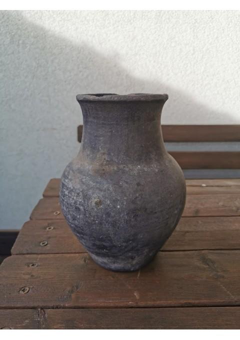 Puodynė molinė, keraminė juodo molio. Kaina 42