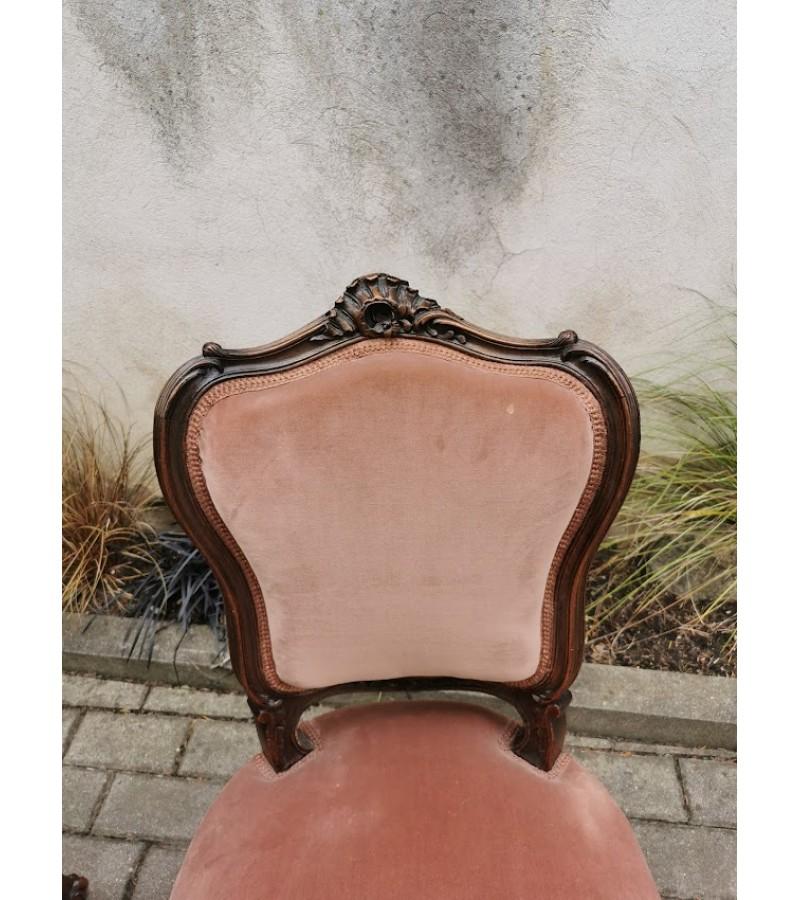 Krėslai, kėdės prancūziškos, antikvarinės, tvirtos. 2 vnt. Kaina po 68