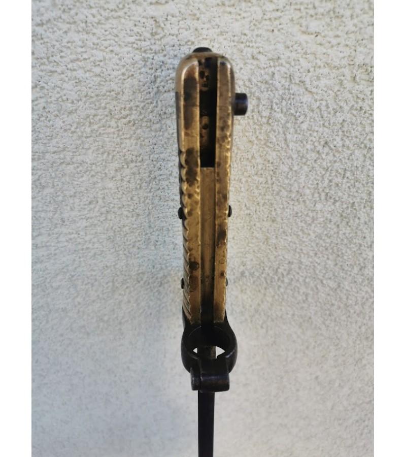 Durtuvas antikvarinis, 1872 m. Chaseport Yataghan Bayonet N 96897, France. Kaina 173