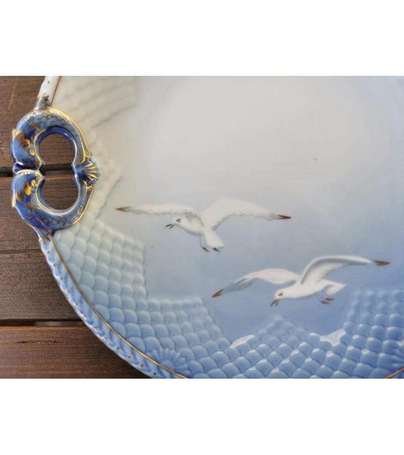 Lėkštė porcelianinė, didelė Copenhagen porcelain BG. Kaina 38