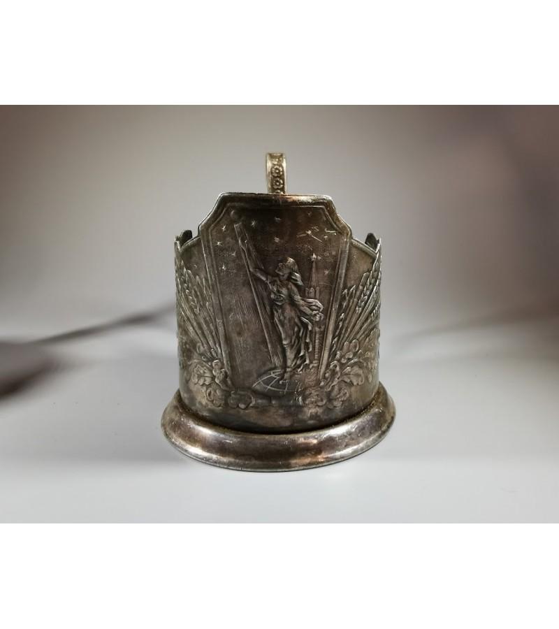 Podstakanikai (Podstakannik), stiklinių laikikliai tarybinių laikų. 2 vnt. Kaina po 36