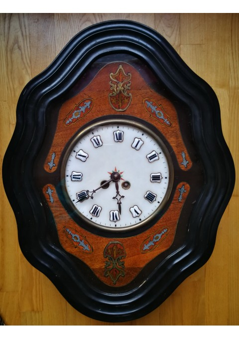 Laikrodis antikvarinis, apie 1870 m. Veikiantis, patikrintas laikrodininko. Kaina 253