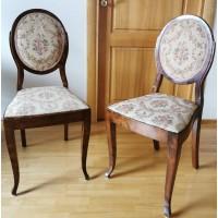Kėdės antikvarinės. Tvirtos. 2 vnt. Kaina po 63