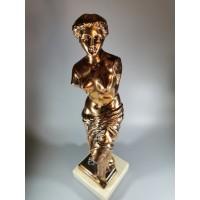 Statulėlė Milo Venera (Venus de Milo, Alexandros of Antioch) metalinė akmeniniu pagrindu. Kaina 68