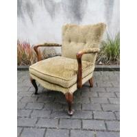Fotelis, krėslas antikvarinis KNOLL'S MODERNA antikvarinis, tarpukario, 1930-1940 m. Kaina 158