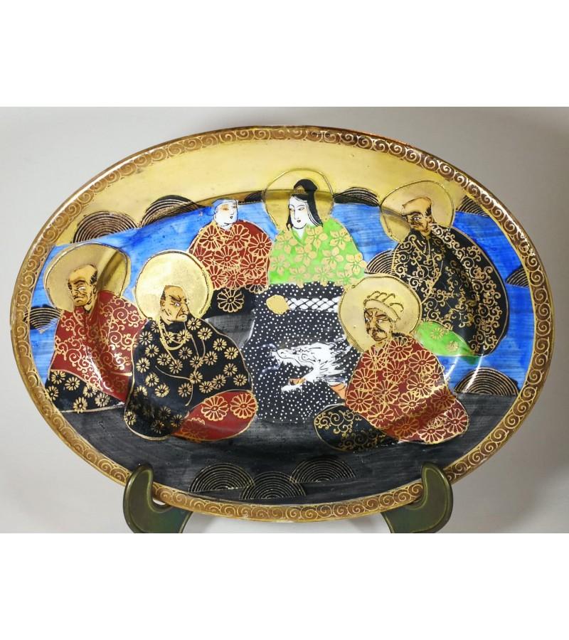 Lėkštė japoniška porcelianinė. Kaina 18