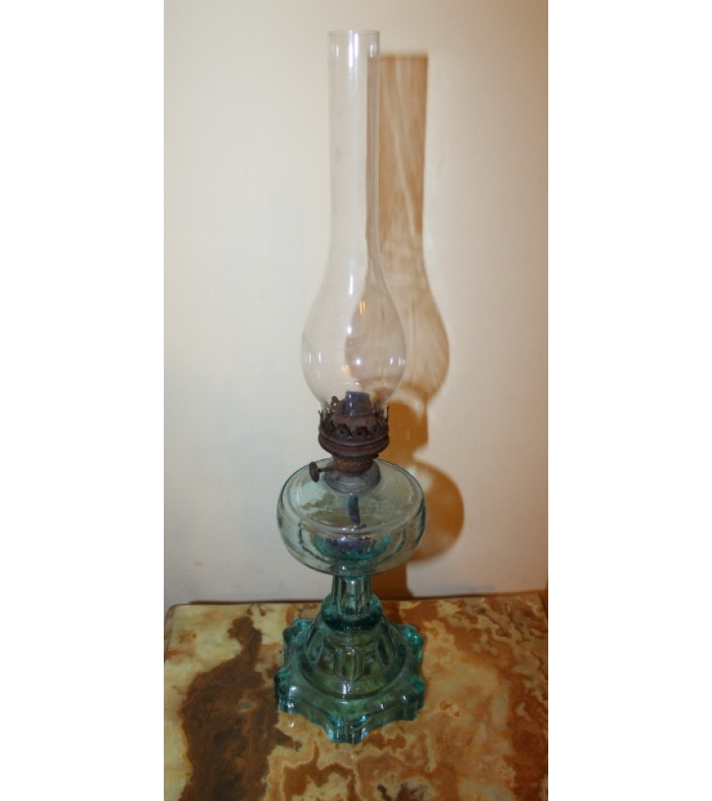 Lempa žibalinė, stiklinė. Būklė be trūkumų. Kaina 72
