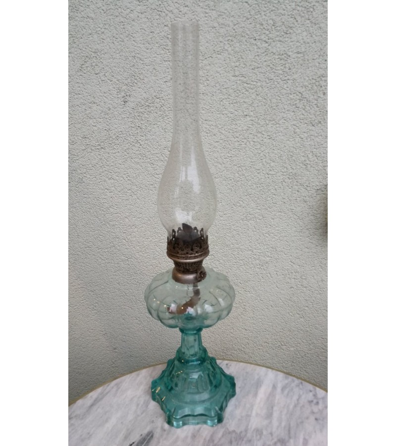 Lempa žibalinė, stiklinė. Kaina 72
