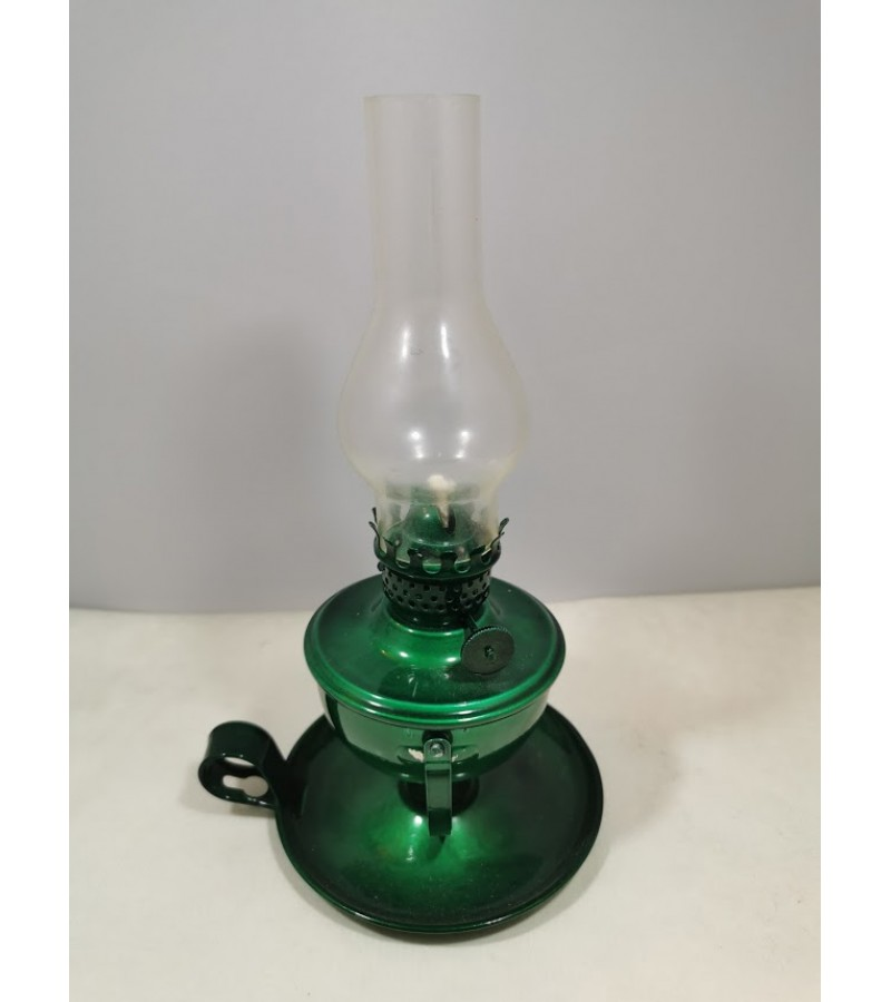 Žibalinė lempa senovinė, pakabinama, pastatoma. Kaina 12